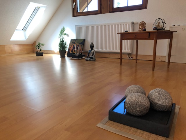 """3Kugeln02 - Projekt """"Freiraum"""" am Hochrhein: Der Raum der """"Stille und Erinnerung"""" - 3 Kugeln im Quadrat"""