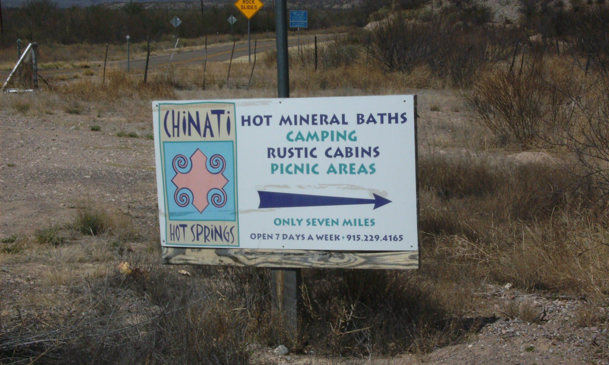 Chinati Hot Springs in Texas