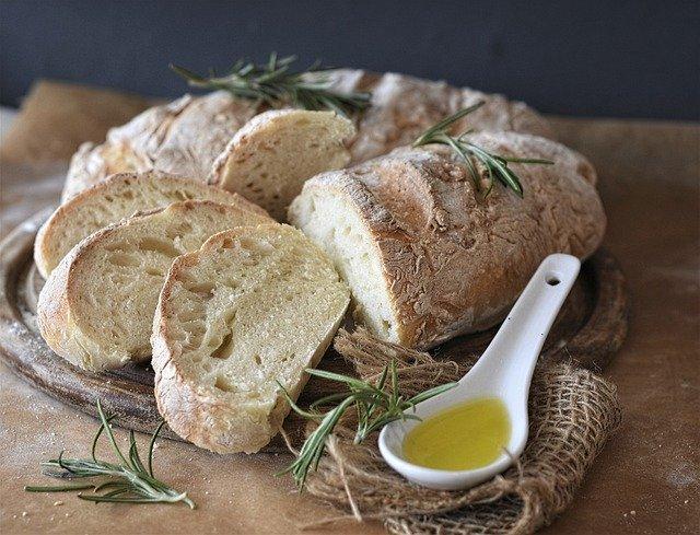 Brot Ciabatta Oil 640 - Reiseblog des Jahres 2021: Erneut Meerblog