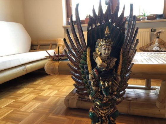 """Garuda mit Vishnu01 560x420 - Projekt """"Freiraum"""" am Hochrhein: Vishnu auf Garuda"""