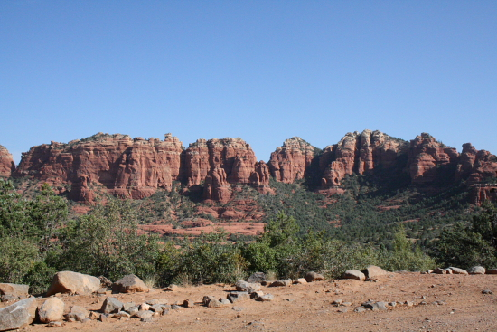 "OffRoadDay06 - The Sedona Tour: Sonntag ist ""off road Tag"" im Red Rock Country"