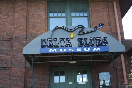 MSBluesTrail Clarksdale09 - Clarksdale, Mississippi: Das Delta Blues Museum