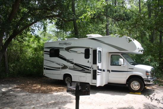 ShepardStatePark01 - Wohnmobil-Urlaub Nordamerika: Scout Groovy ist kein Scout mehr beim Womo-Abenteuer