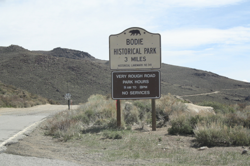 Bodie01 - Kalifornien: Bodie Ghost Town State Park