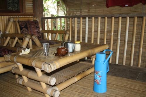 """GoodKarma Morgentee - Im Osten von Bali: Die """"Good Karma Bungalows"""" nahe Amed"""