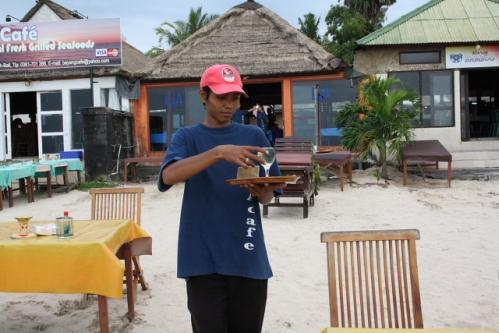 LiaCafe02 Ketut - Jimbaran, Bali: Cafe Lia - Seafood vom Feinsten