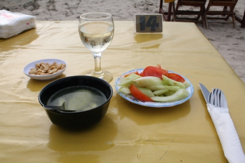 LiaCafe03 Vorspeise - Jimbaran, Bali: Cafe Lia - Seafood vom Feinsten
