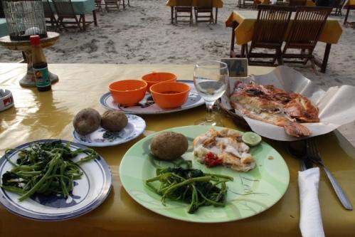 LiaCafe04 RedSnapper - Jimbaran, Bali: Cafe Lia - Seafood vom Feinsten