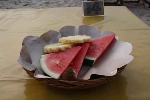 LiaCafe05 Obst - Jimbaran, Bali: Cafe Lia - Seafood vom Feinsten