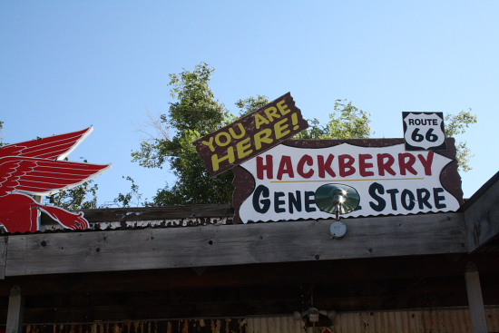 Route66Hackberry03 - Route 66, Arizona: Der Hackberry Store