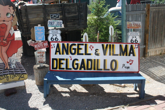 Angel Delgadillo's Gift Shop in Seligman