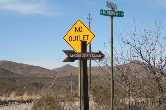 ApacheSpiritRanch01 - Apache Spirit Ranch - Tombstone, Arizona: Anfahrt