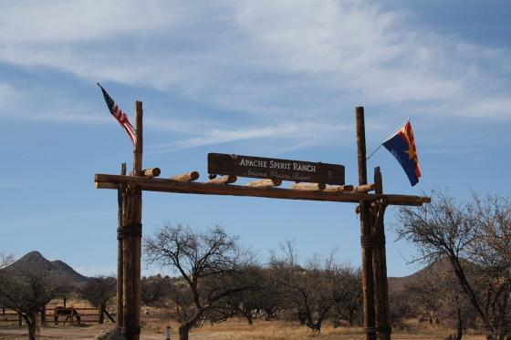 """ApacheSpiritRanch02 - Apache Spirit Ranch - Tombstone, Arizona: Jack Wheeler - der """"Spirit"""" ist leider nicht angekommen"""