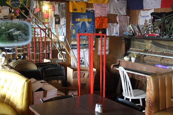 "BagdadCafe02 - Bagdad Cafe - ""Out of Rosenheim"": Kalifornien - der Verfall eines Filmdrehortes oder Brenda ist tot"