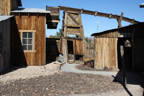 CastleDome02 - Quartzsite, Arizona: Castle Dome Mines - Ghost Town und Museum