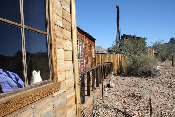 CastleDome07 - Quartzsite, Arizona: Castle Dome Mines - Ghost Town und Museum