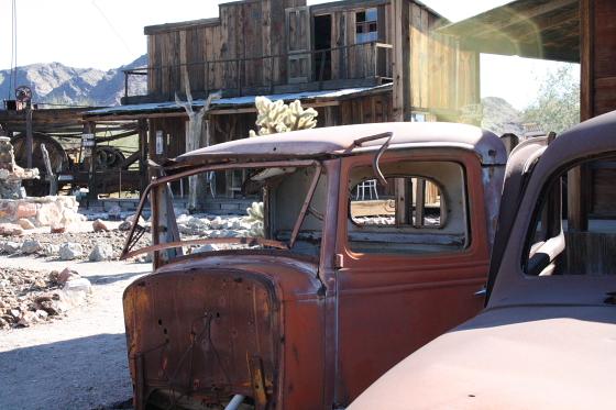 CastleDome08 - Quartzsite, Arizona: Castle Dome Mines - Ghost Town und Museum
