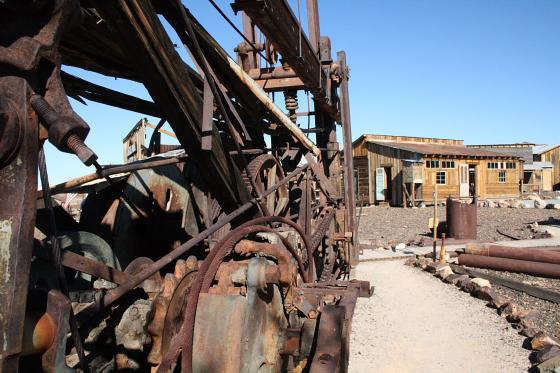 CastleDome10 - Quartzsite, Arizona: Castle Dome Mines - Ghost Town und Museum