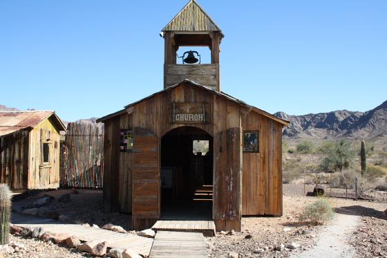 CastleDome13 - Quartzsite, Arizona: Castle Dome Mines - Ghost Town und Museum