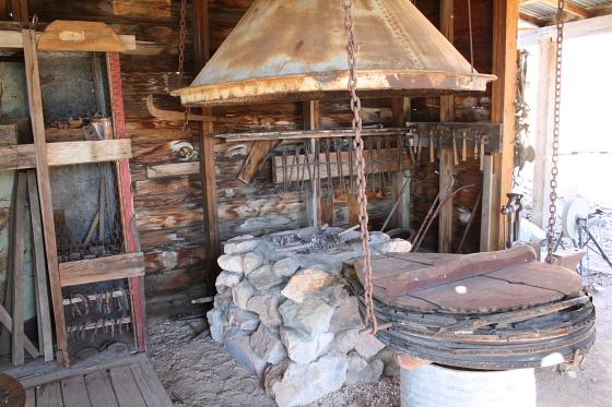 CastleDome16 - Quartzsite, Arizona: Castle Dome Mines - Ghost Town und Museum