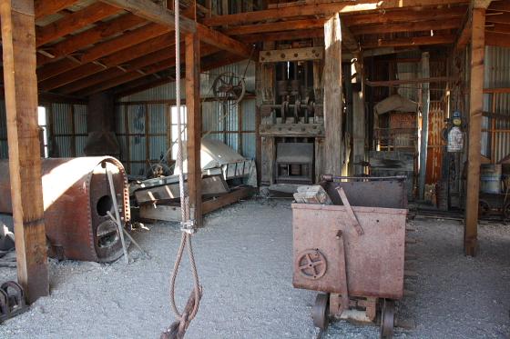 CastleDome21 - Quartzsite, Arizona: Castle Dome Mines - Ghost Town und Museum