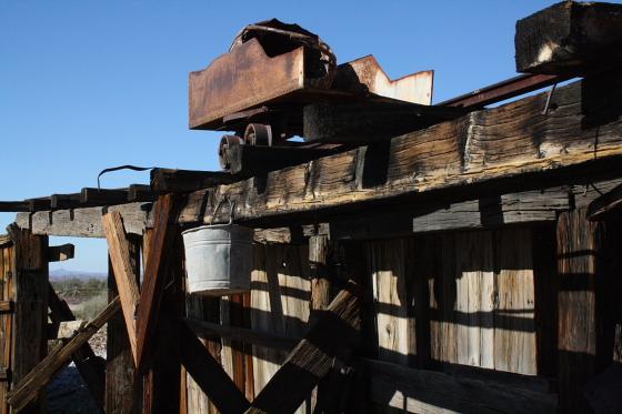 CastleDome22 - Quartzsite, Arizona: Castle Dome Mines - Ghost Town und Museum