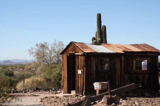 CastleDome23 - Quartzsite, Arizona: Castle Dome Mines - Ghost Town und Museum