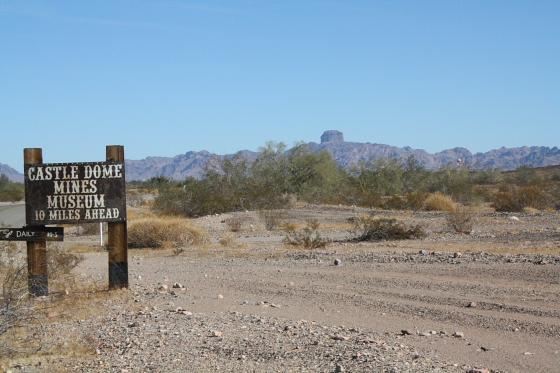 CastleDome24 - Quartzsite, Arizona: Castle Dome Mines - Ghost Town und Museum