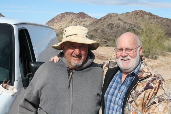 Quartzsite Arizona Forrest Baker