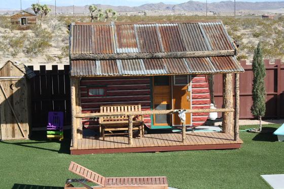 Hicksville Trailer Palace Kalifornien Nostalgie Wohnwagen