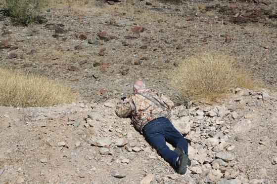 JoeLangehardwork01 - Quartzsite, Arizona: Joe Lange - Natur-Photographie ist harte Arbeit