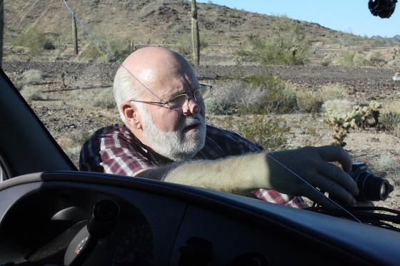 JoeLangehardwork03 - Quartzsite, Arizona: Joe Lange - Natur-Photographie ist harte Arbeit