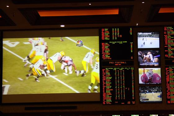 LAS Mandaly Sportsbar - Las Vegas, Nevada: Excalibur Hotel & Casino