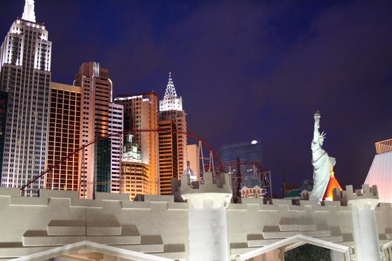 LAS NYC - Las Vegas, Nevada: Excalibur Hotel & Casino