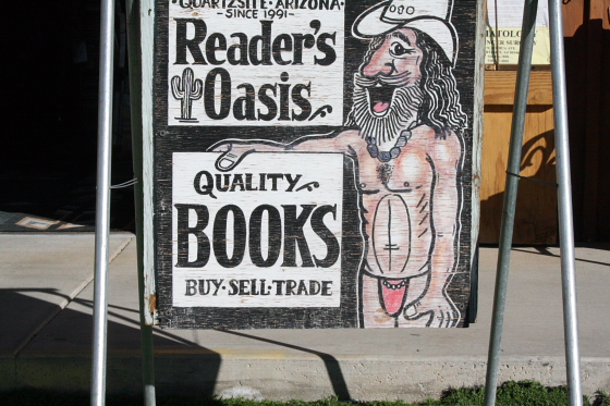 Paul Winer the naked bookman
