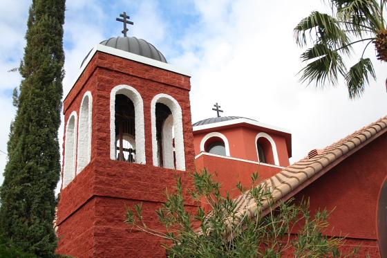 StAnthony Kloster02 - Florence, Arizona: St. Anthony's Greek Orthodox Monastery - grüne Oase in der Wüste