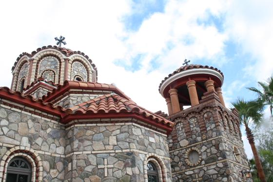 StAnthony Kloster03 - Florence, Arizona: St. Anthony's Greek Orthodox Monastery - grüne Oase in der Wüste