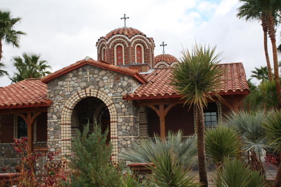StAnthony Kloster07 - Florence, Arizona: St. Anthony's Greek Orthodox Monastery - grüne Oase in der Wüste