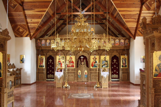 StAnthony Kloster08 - Florence, Arizona: St. Anthony's Greek Orthodox Monastery - grüne Oase in der Wüste