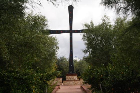 StAnthony Kloster13 - Florence, Arizona: St. Anthony's Greek Orthodox Monastery - grüne Oase in der Wüste