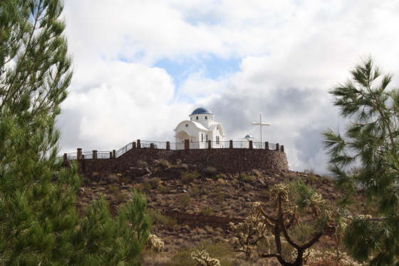 StAnthony Kloster15 - Florence, Arizona: St. Anthony's Greek Orthodox Monastery - grüne Oase in der Wüste