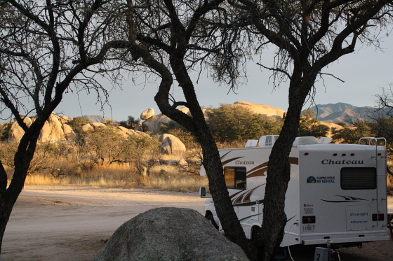 TriangleTRanch01 - Triangle T Guest Ranch & RV Park - Dragoon, Arizona: Wonderland of Rocks