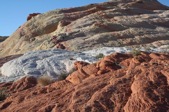 Die Wave im Valley of Fire, Nevada