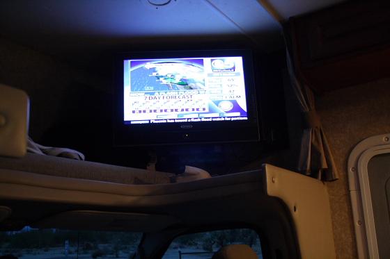 Wetter TV - Start der Snowbird-WoMo-Tour: Campingworld (Moturis) Las Vegas und das lausige Wetter