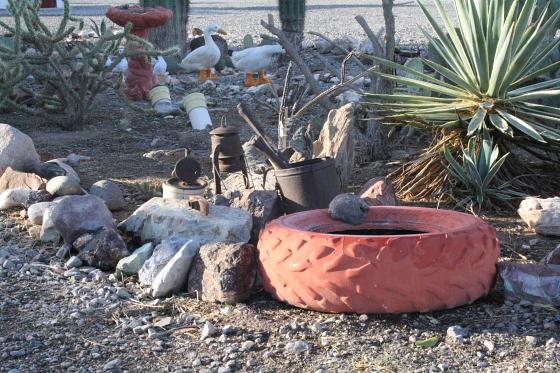 quartzsite04 - Quartzsite, Arizona: The Scenic Road RV Park - zu Gast bei Shawn und Randie