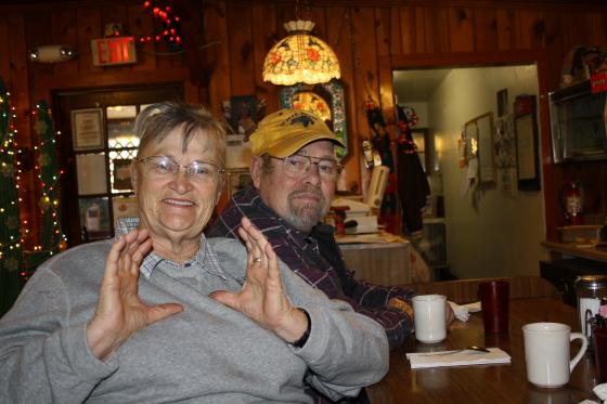Carol und Don in Quartzsite