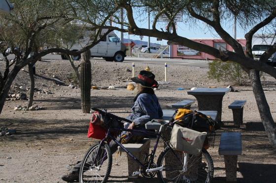 Snowbirds Quartzsite Arizona