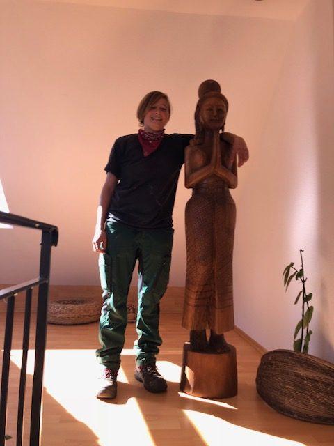"""Suzanne Anna e1539449066831 - Projekt """"Freiraum"""" am Hochrhein: Der zweite Star der Wohnung ist Suzanne"""
