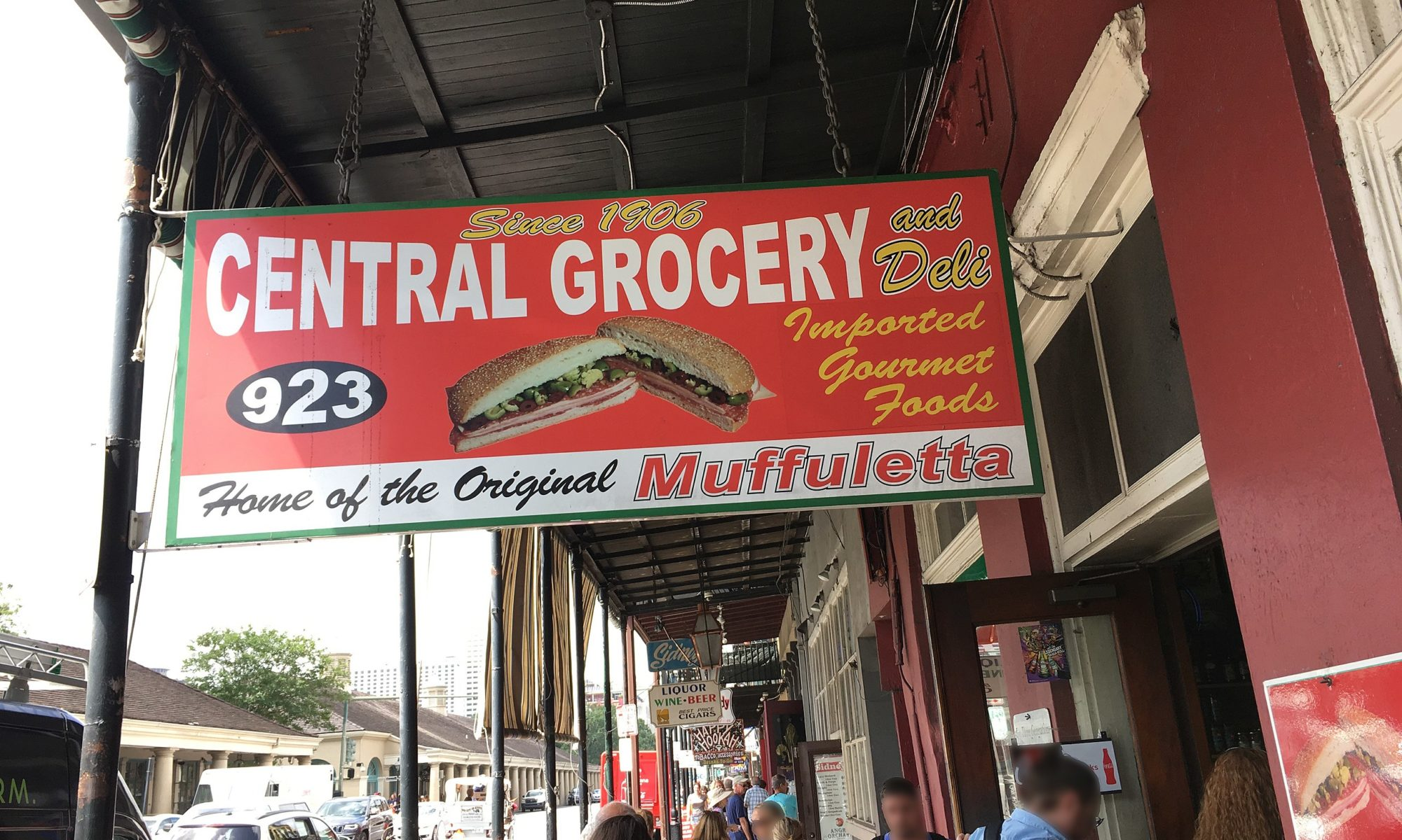 central grocery sign 2000x1200 - New Orleans, Louisiana: Central Grocery - Home of the Muffuletta