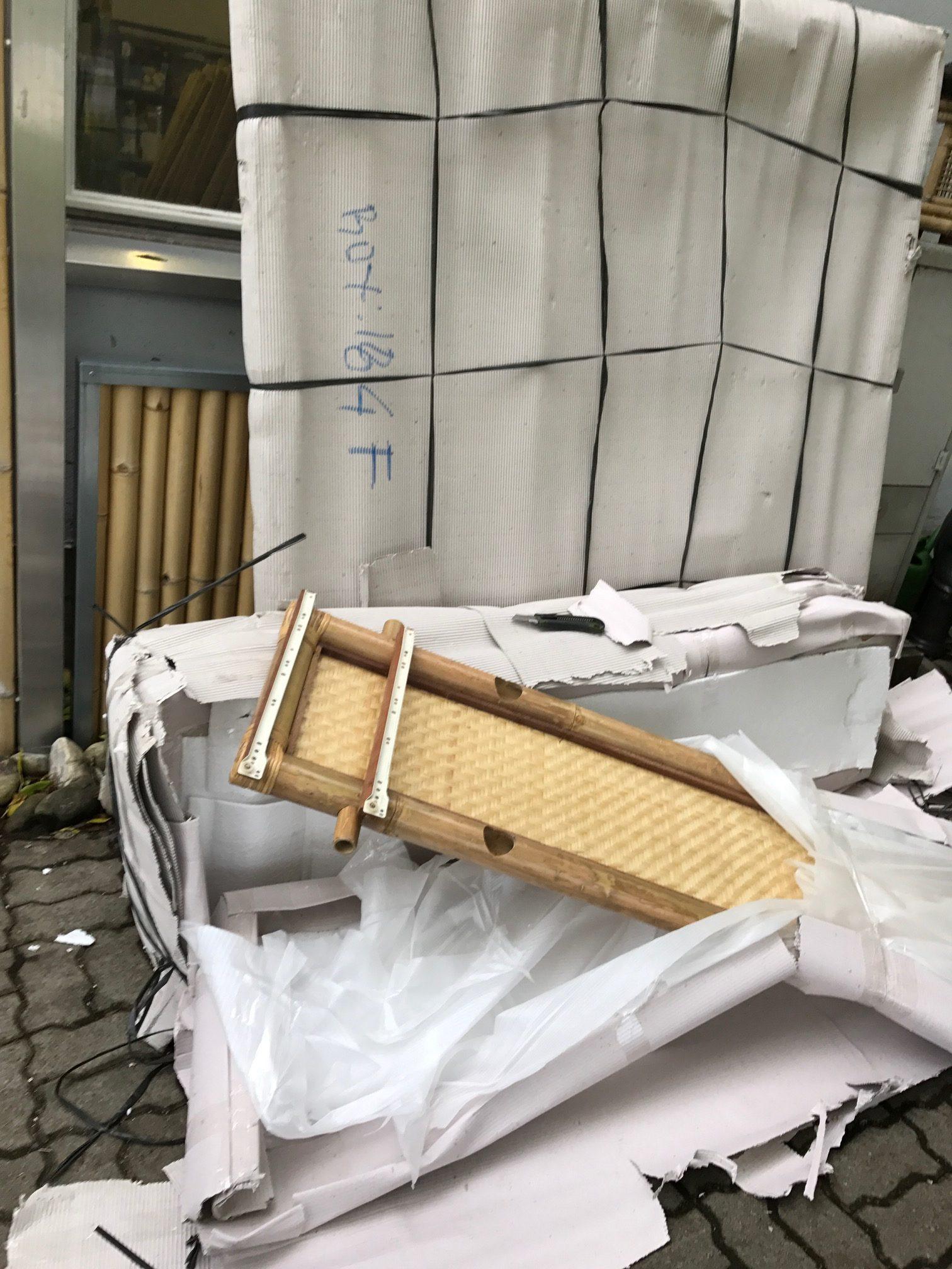 """container5 2 e1541017905501 - Projekt """"Freiraum"""" am Hochrhein: Unser Kleiderschrank aus Bali ist angekommen"""